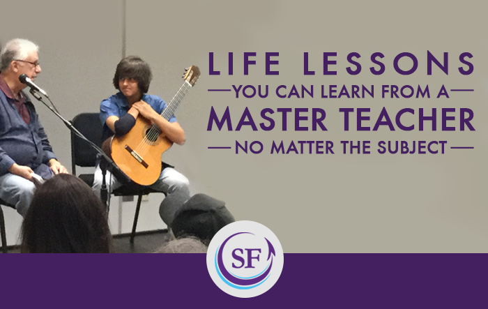 Why Watch a Master Guitar Class if You Don't Play Guitar?