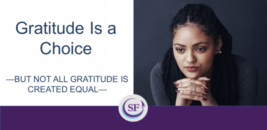 Gratitude is a Choice thumbnail
