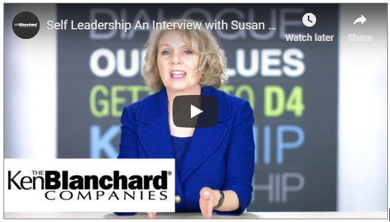 Self Leadership: An Interview with Susan Fowler