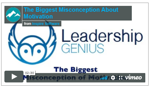 The Biggest Misconception of Motivation