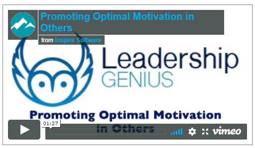 Promoting Optimal Motivation in Others post image