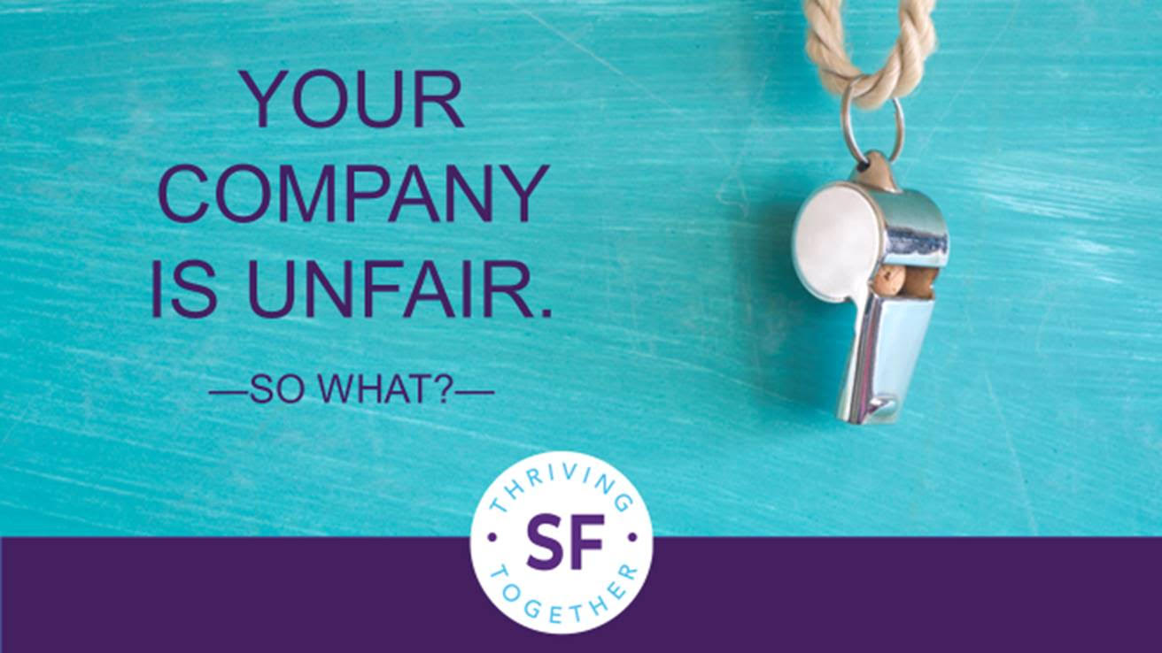 Your Company is Unfair. So What? thumbnail